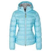 Bogner Kiki Down 16 Womens Insulated Ski Jacket, Ibiza Blue, medium
