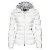 Bogner Kiki Down 16 Womens Insulated Ski Jacket, Off White, medium
