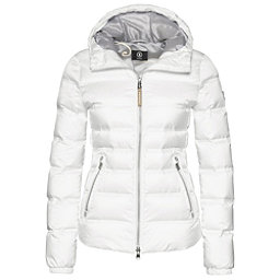 Bogner Kiki Down 16 Womens Insulated Ski Jacket, Off White, 256