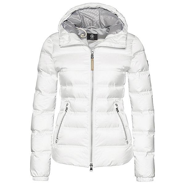 Bogner Kiki Down 16 Womens Insulated Ski Jacket, Off White, 600