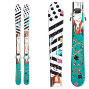 Roxy Bonbon Kids Skis with Kid-X Bindings 2017, , medium