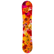 SLQ Hug Me Orange Girls Snowboard, , medium