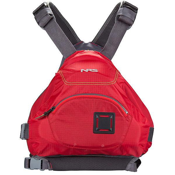 NRS Ninja Adult Kayak Life Jacket 2017, Red, 600