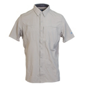 KUHL Wunderer Short Sleeve Mens Shirt, Khaki, medium