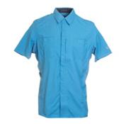 KUHL Wunderer Short Sleeve Mens Shirt, Ocean Blue, medium
