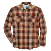 KUHL OutRydr Mens Flannel Shirt, Rustic Brown, medium