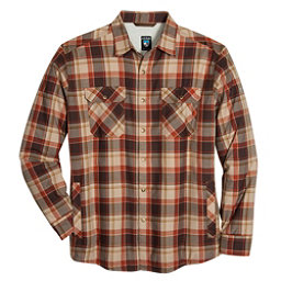 KUHL OutRydr Mens Flannel Shirt, Rustic Brown, 256