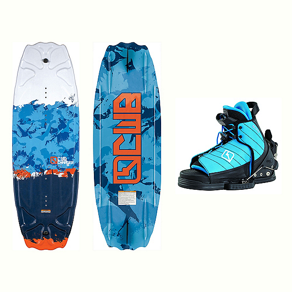 CWB Charger Kids Wakeboard With Tyke Bindings 2017, , 600