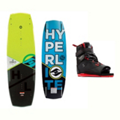 Hyperlite Baseline Wakeboard With Focus Bindings 2017, , medium