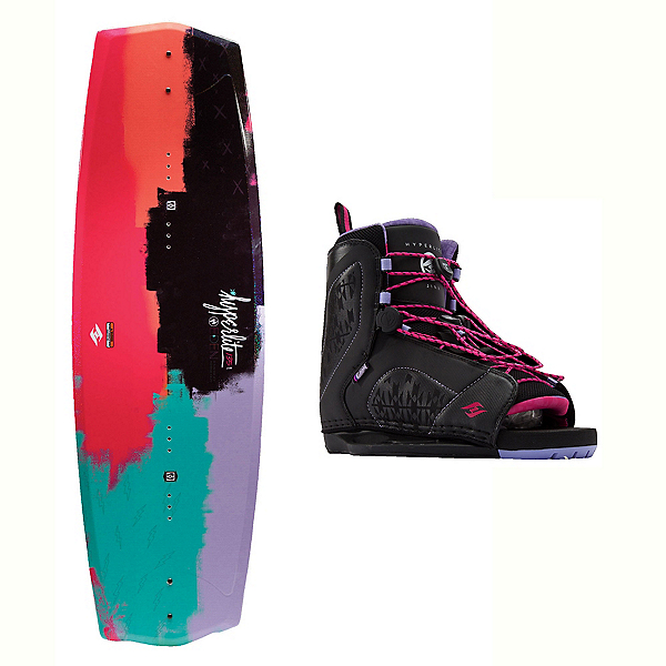 Hyperlite Eden 2.0 Womens Wakeboard With Jinx Bindings 2017, , 600