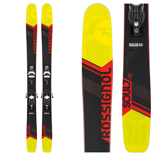 Rossignol Soul 7 HD Skis with Konnect 12 Dual Bindings, , 600