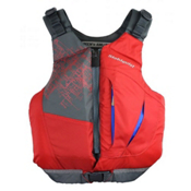 Stohlquist Escape Adult Kayak Life Jacket 2017, Red, medium