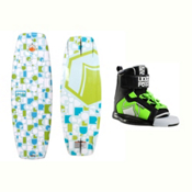 Liquid Force Fury Kids Wakeboard With Rant Bindings 2017, , medium