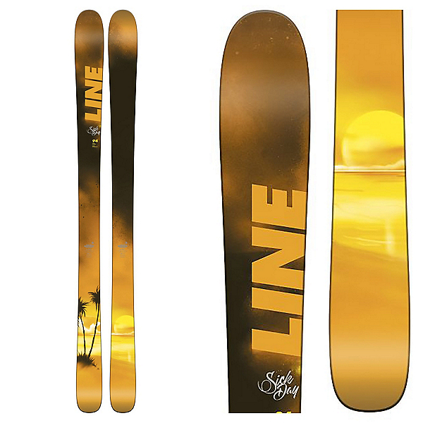 Line Sick Day 94 Skis 2018, , 600