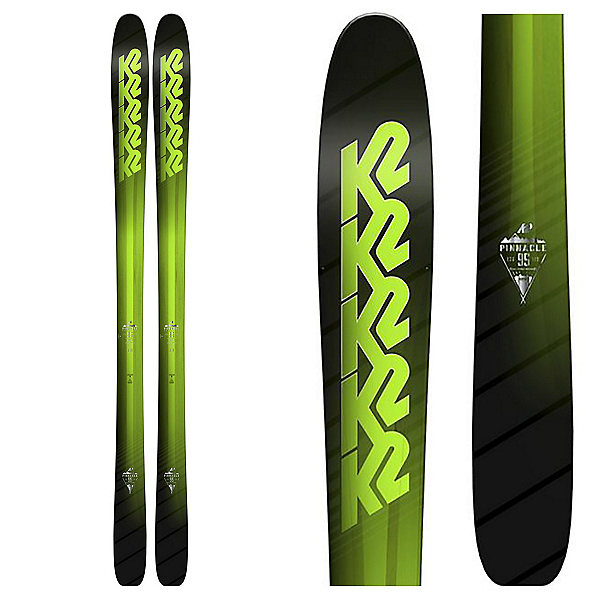 K2 Pinnacle 95 Skis 2018, , 600