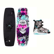 Ronix Quarter Til Midnight Womens Wakeboard With Halo Bindings 2017, , medium