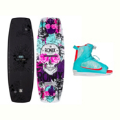 Ronix Quarter Til Midnight Womens Wakeboard With Luxe Bindings 2017, , medium