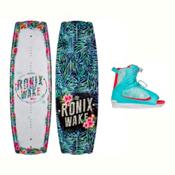 Ronix Krush Womens Wakeboard With Luxe Bindings 2017, , medium