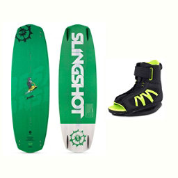 Slingshot Response Wakeboard With Option Bindings 2017, , 256