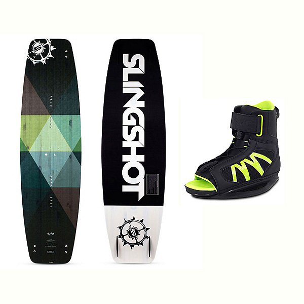 Slingshot Nomad Wakeboard With Option Bindings 2017, , 600