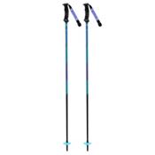 K2 Style Composite Womens Ski Poles 2018, Blue, medium