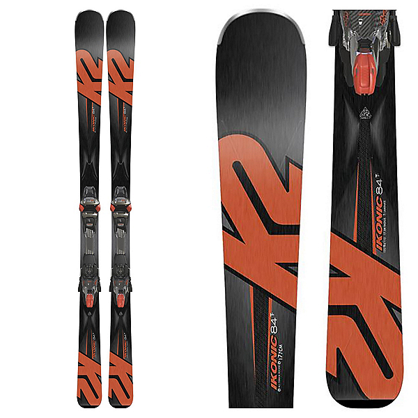 K2 iKonic 84Ti Skis with MCx 12TCx Bindings 2018, , 600