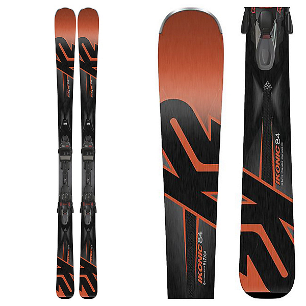 K2 iKonic 84 Skis with M3 TCx 12 Light Bindings 2018, , 600