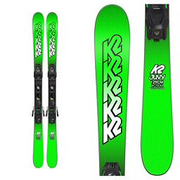 K2 Juvy Kids Skis with FDT 4.5 Bindings 2018, , 256