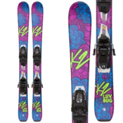 K2 Luv Bug Kids Skis with FDT 4.5 Bindings 2018, , medium