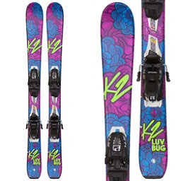 K2 Luv Bug Kids Skis with FDT 4.5 Bindings 2018, , 256