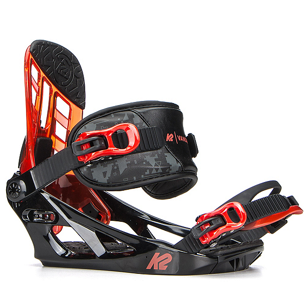 K2 Vandal Kids Snowboard Bindings 2018, Black, 600