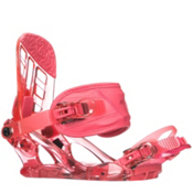 K2 Kat Girls Snowboard Bindings 2018, Berry, medium