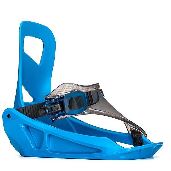 K2 Mini Turbo Kids Snowboard Bindings 2018, Blue, 600