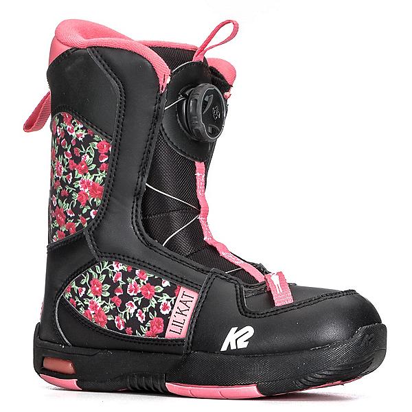 K2 Lil Kat Girls Snowboard Boots 2018, Black, 600