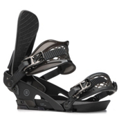 Ride El Hefe Snowboard Bindings 2018, Black, medium