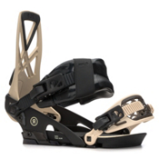 Ride Capo Snowboard Bindings 2018, Tan, medium