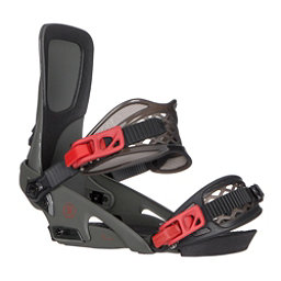 Ride LTD Snowboard Bindings 2018, Olive, 256