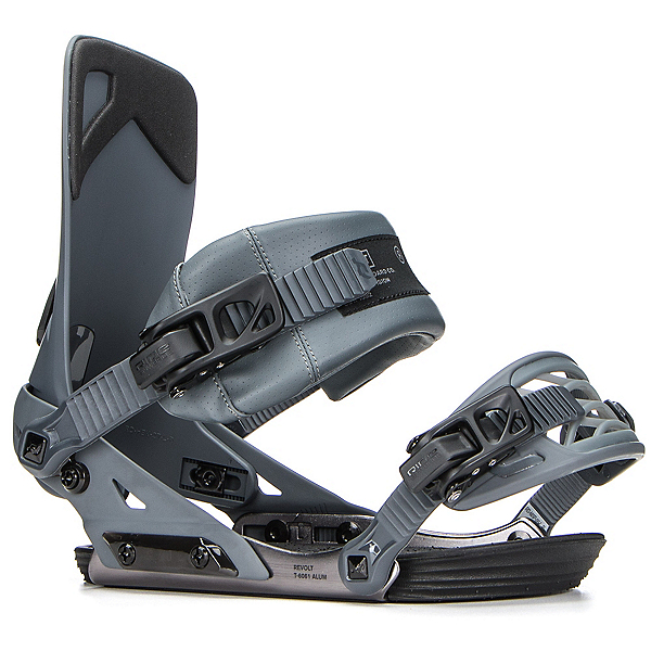 Ride Revolt Snowboard Bindings 2018, Grey, 600