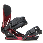 Ride EX Snowboard Bindings 2018, Crimson, medium