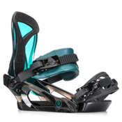 Ride KS Womens Snowboard Bindings 2018, Deep Teal, medium