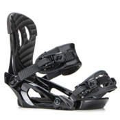 Ride LXH Womens Snowboard Bindings 2018, Black, medium