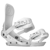 Ride DVA Womens Snowboard Bindings 2018, White, medium