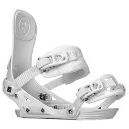 Ride DVA Womens Snowboard Bindings 2018, White, 256
