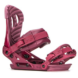 Ride VXN Womens Snowboard Bindings 2018, Maroon, 256