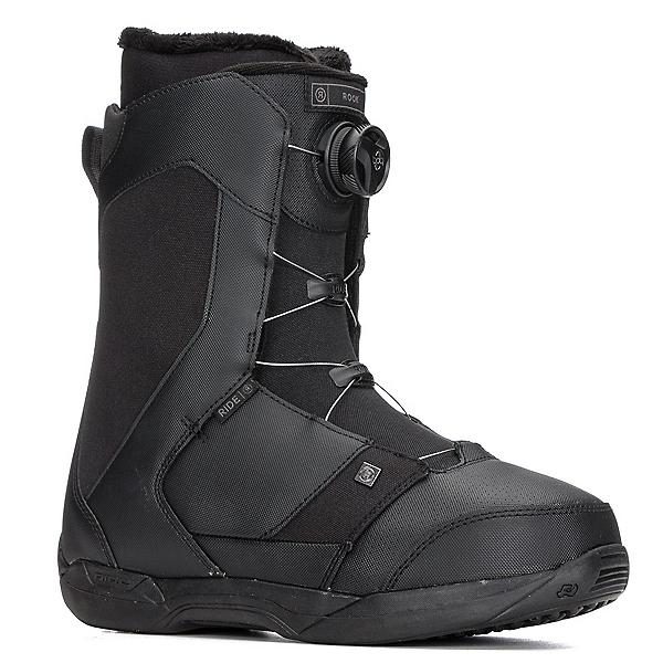 Ride Rook Boa Snowboard Boots 2018, Black, 600
