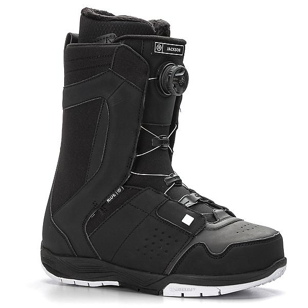 Ride Jackson Boa Coiler Snowboard Boots 2018, Black, 600