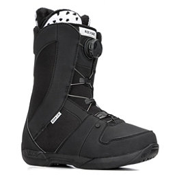 Ride Sage Boa Coiler Womens Snowboard Boots 2018, Black, 256