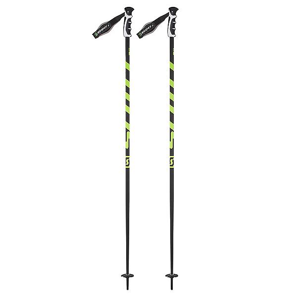Scott World Cup Strike Ski Poles 2018, Black-Yellow, 600