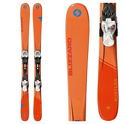 Blizzard Rustler Jr. Kids Skis with IQ 4.5 Bindings 2018, , 256