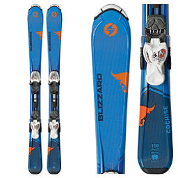 Blizzard Cochise Jr. Kids Skis with IQ 4.5 Bindings 2018, , 256